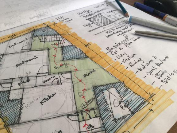 plan maison étapes exprtise feng shui stell art vendee 85